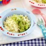 Mini Alphabet Pasta With Pesto
