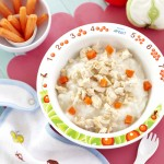 Rice Porridge With Chicken & Carrots